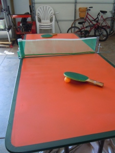 big w ping pong table instructions