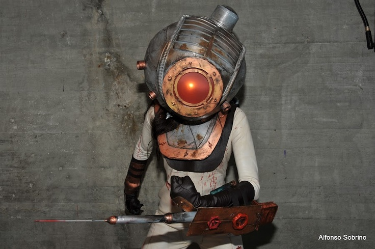 bioshock big daddy costume instructions