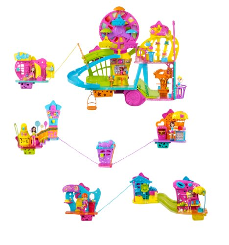 polly pocket shopping mall instructions