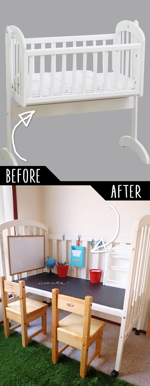 old ikea cot instructions