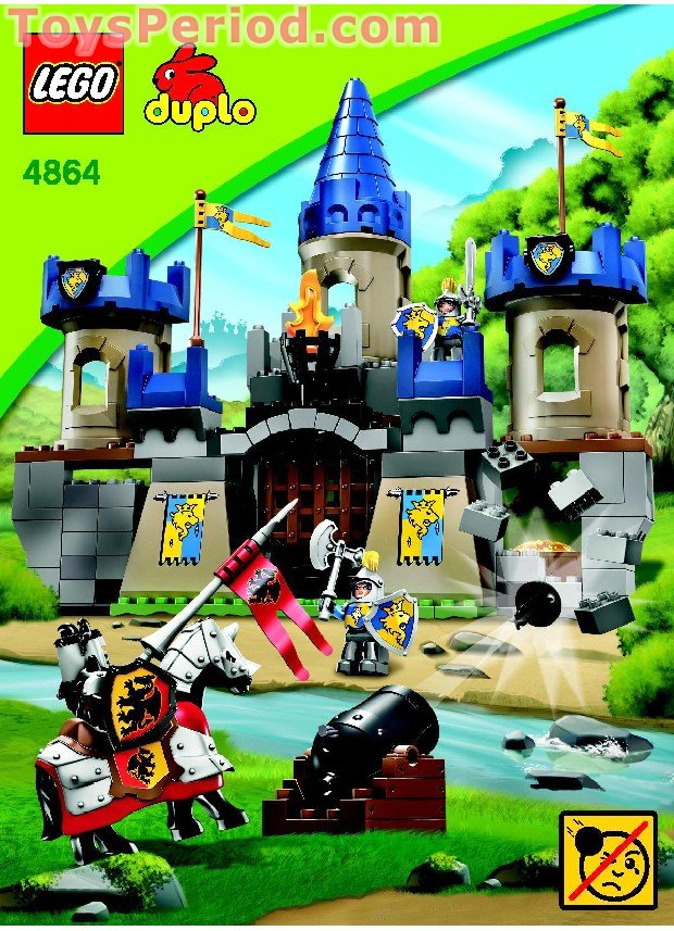 duplo castle instructions 10577