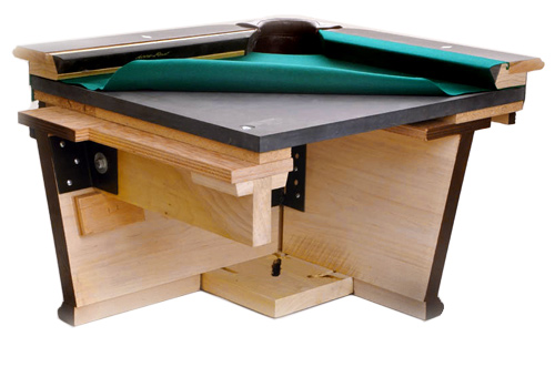 dufferin pool table assembly instructions