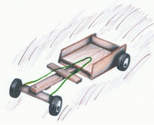 how to make a billy cart instructions