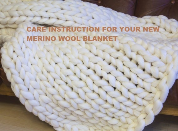 caring instructions for wool