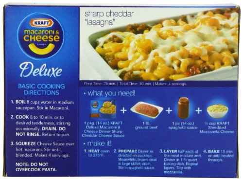 instructions on lenards mac and cheese