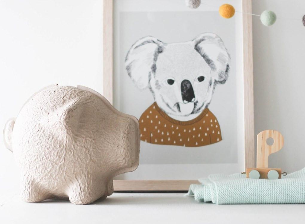 quirky piggy bank instructions