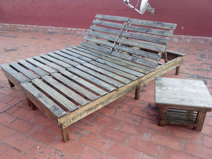 wooden pallet chair instructions