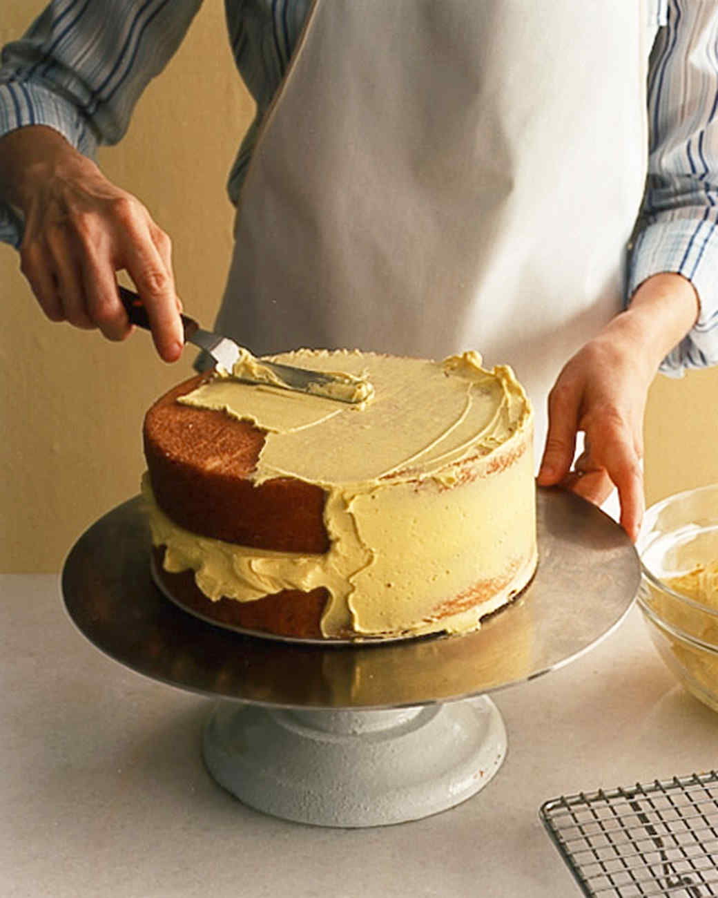 how to make a cake instruction
