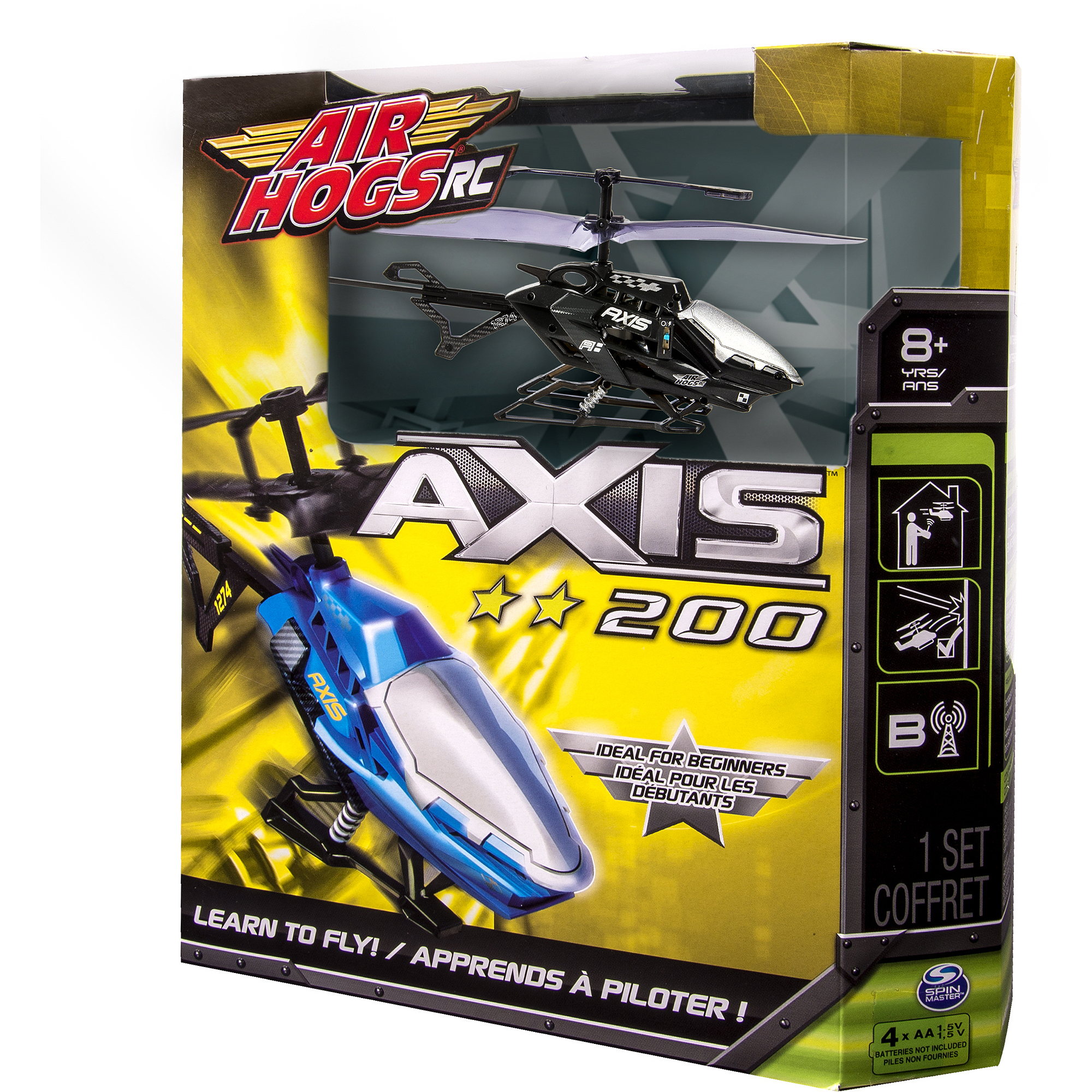 air hogs helicopter axis 200 instructions