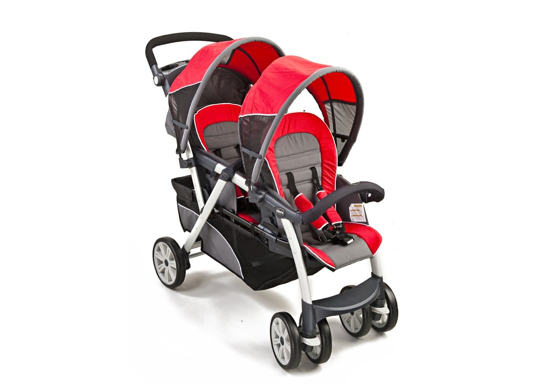 chicco cortina together double stroller instructions
