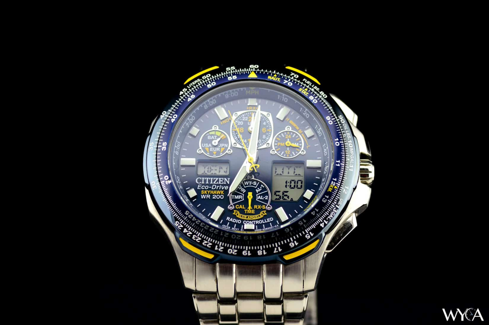 citizen eco-drive skyhawk wr200 instructions