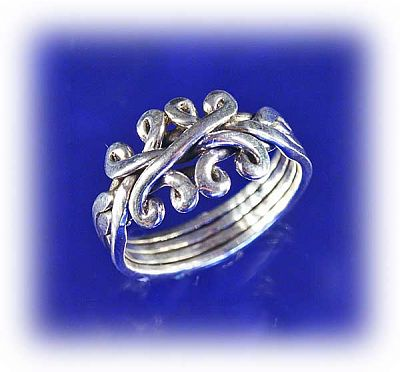 claddagh puzzle ring instructions