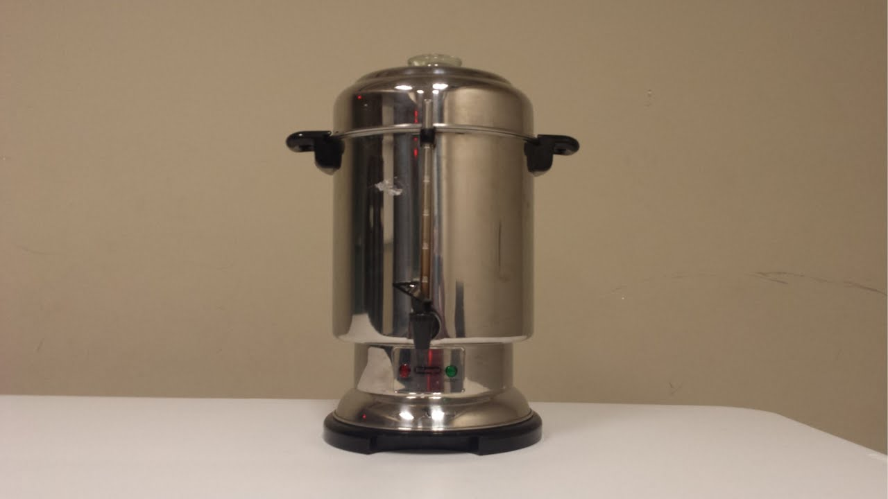 commercial coffee percolator instructions