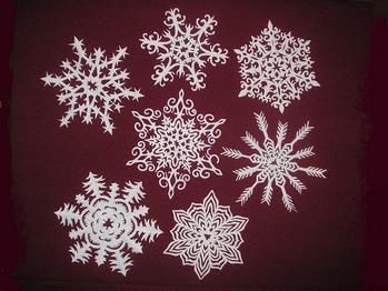 cool paper snowflakes instructions