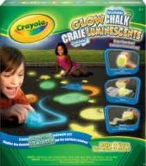 crayola glow in the dark chalk instructions