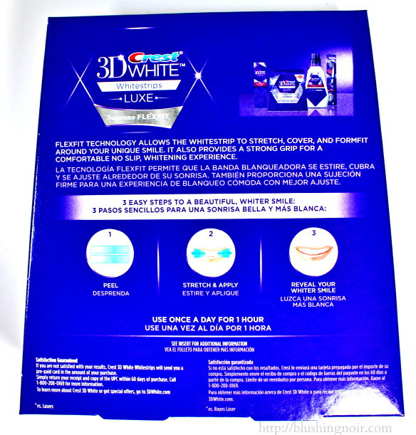 crest 3d white strips luxe professional effects instructions