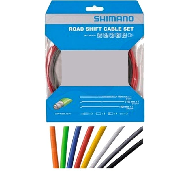 shimano xt gear cable set instructions