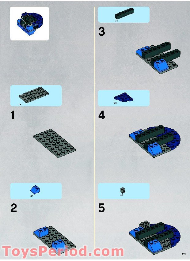 lego droid assault tank instructions