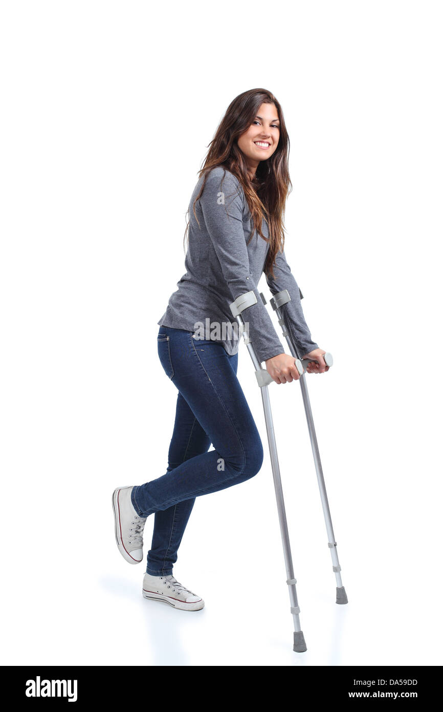 walking with crutches instructions