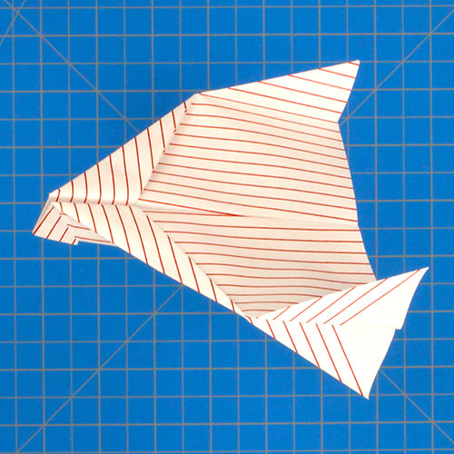how to make a fast paper airplane instructions