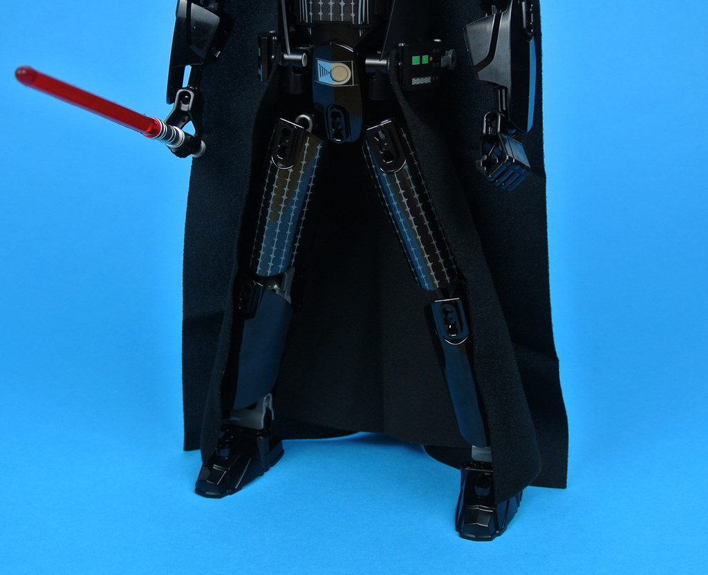 darth vader buildable figure instructions