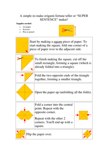 instructions on how to make a chatter box