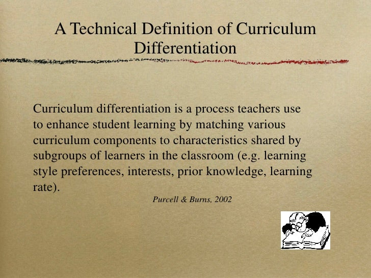 define differentiated instruction in education