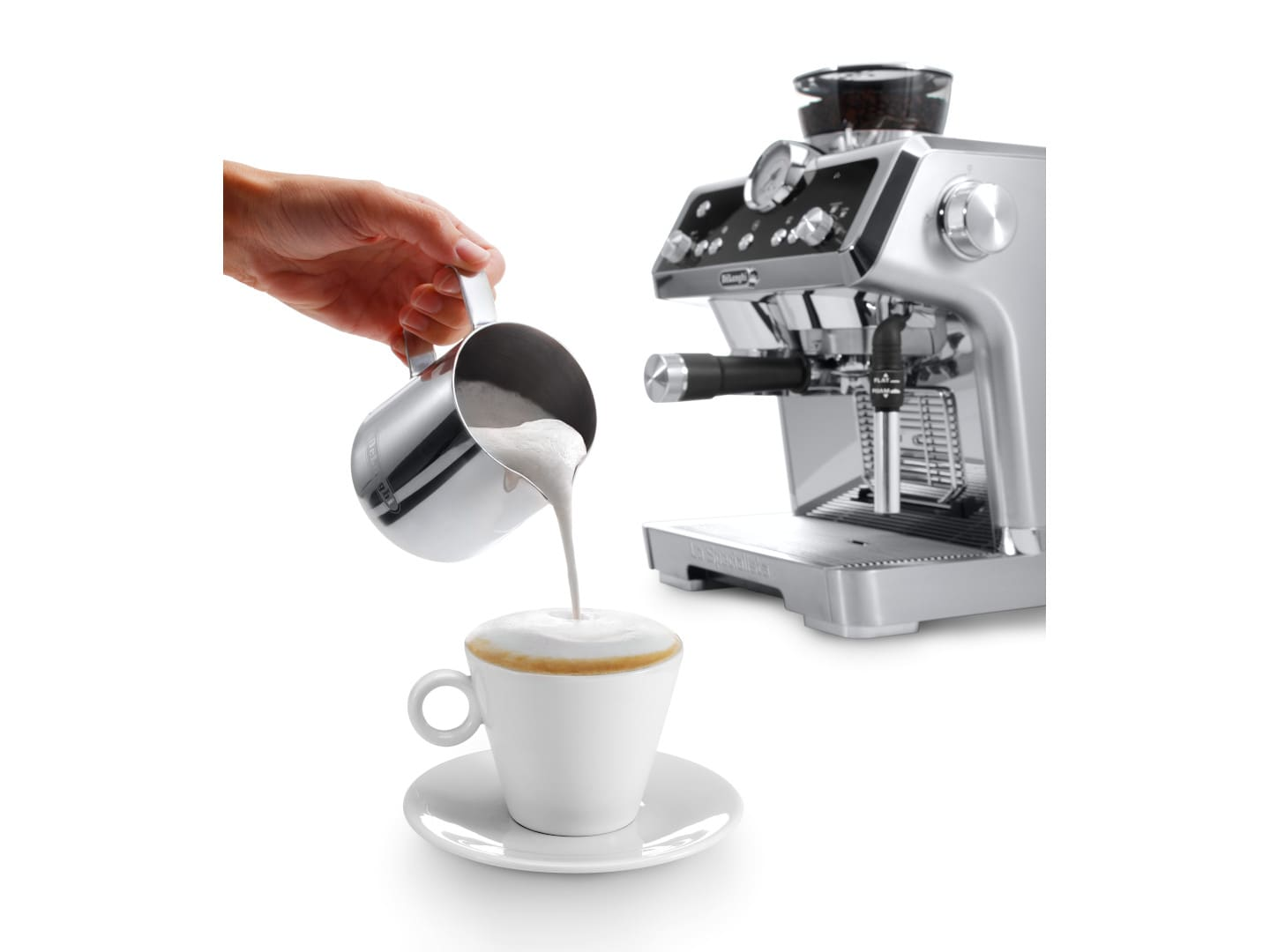 delonghi built in coffee machine instructions