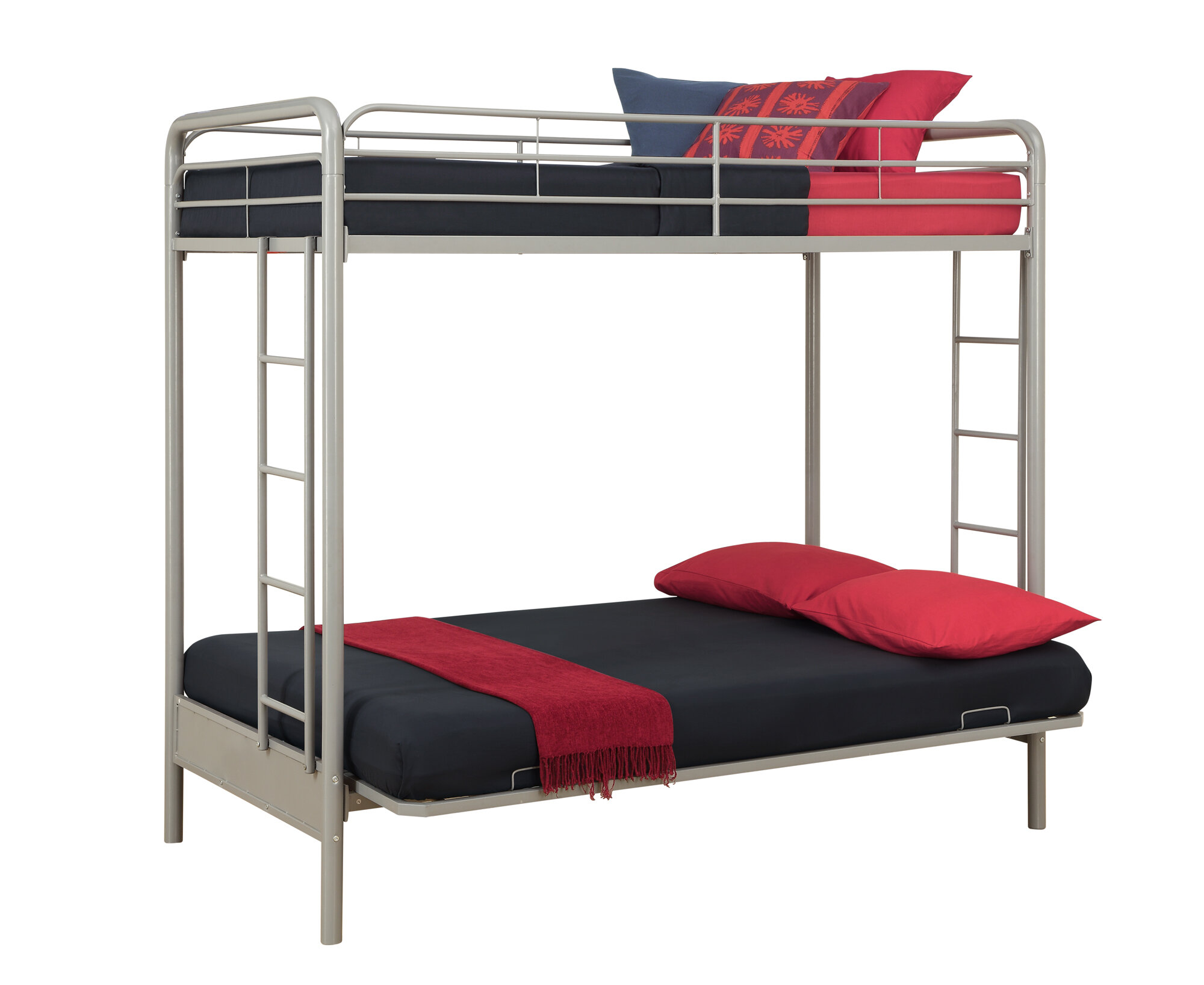 dorel twin over full bunk bed instructions
