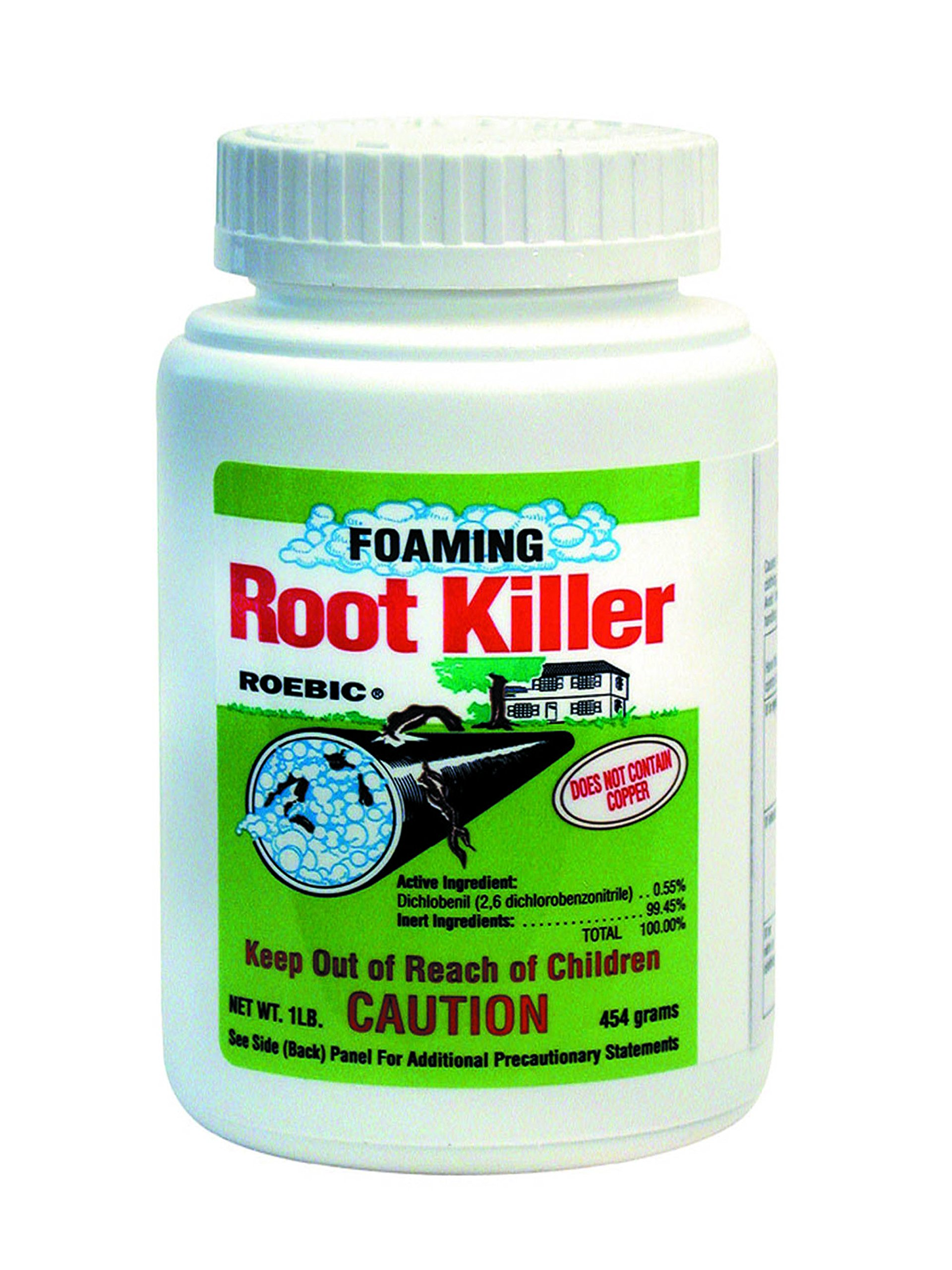drain clean root control instruction