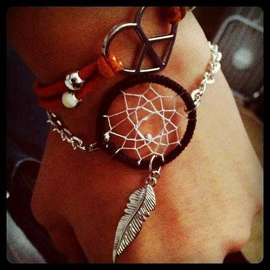 dream catcher bracelet instructions