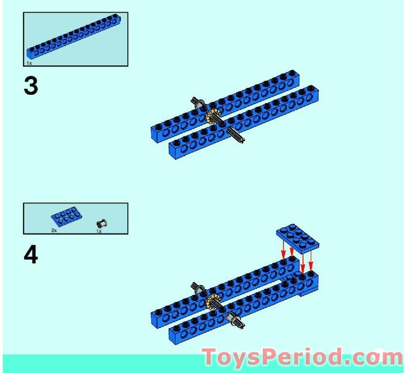 how to design lego mechanisms instructions