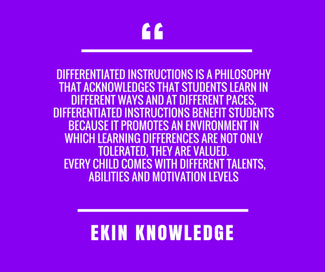 instruction as of students