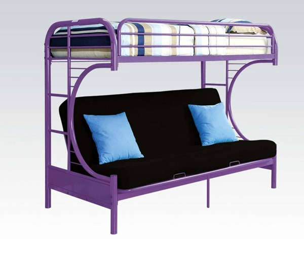 eclipse twin over futon metal bunk bed instructions