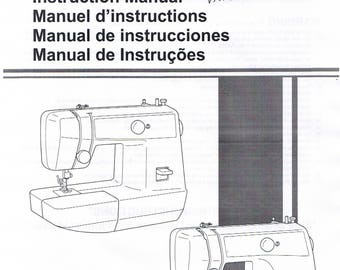 elna 21 instruction manual