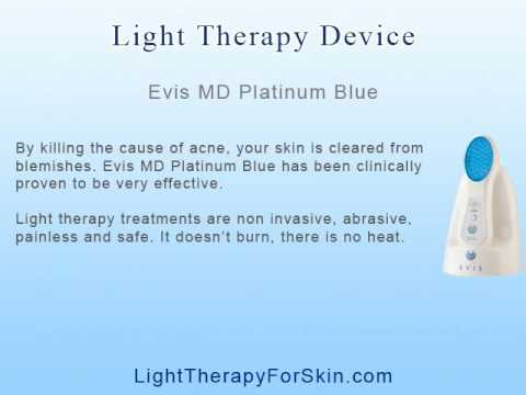 evis red light therapy instructions