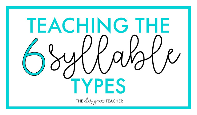 explicit instruction for syllables