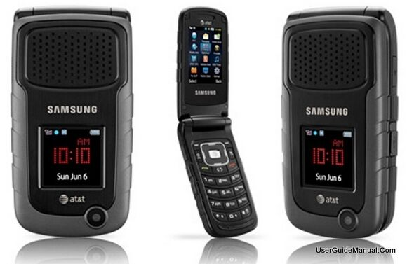 instructions for samsung black phone