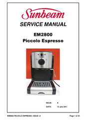 piccolo coffee machine instructions