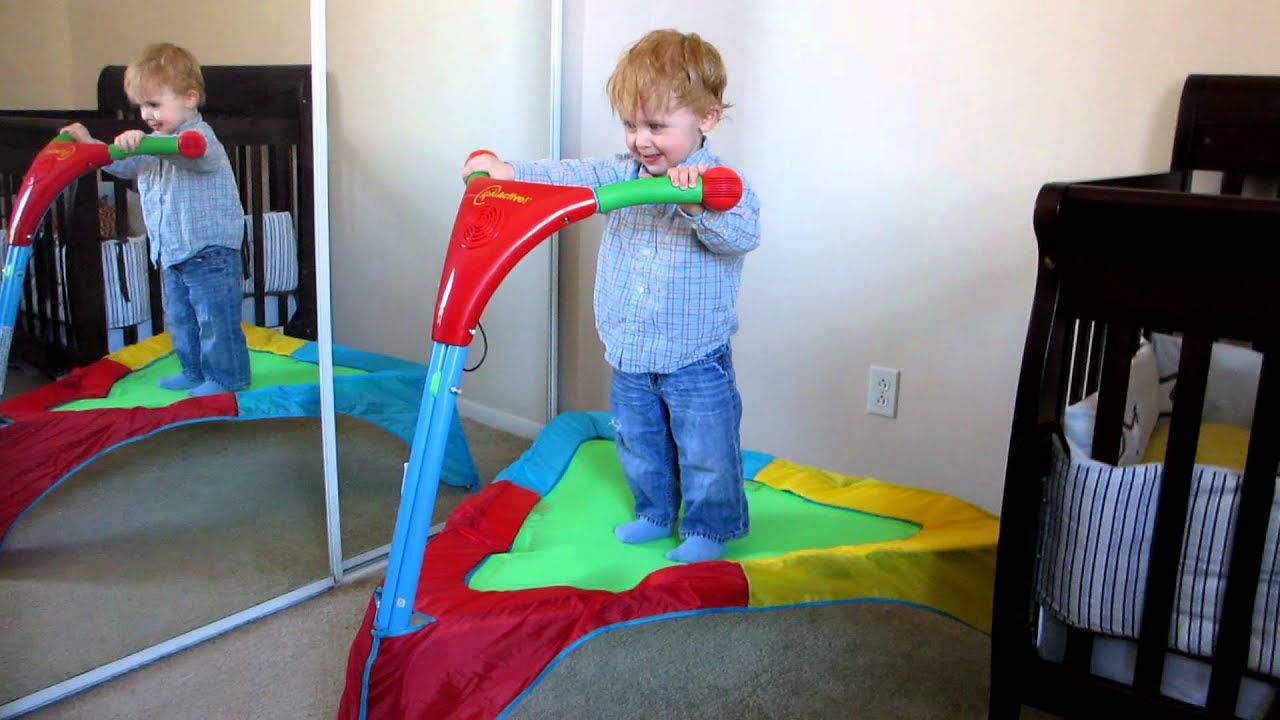kid active triangle trampoline assembly instructions