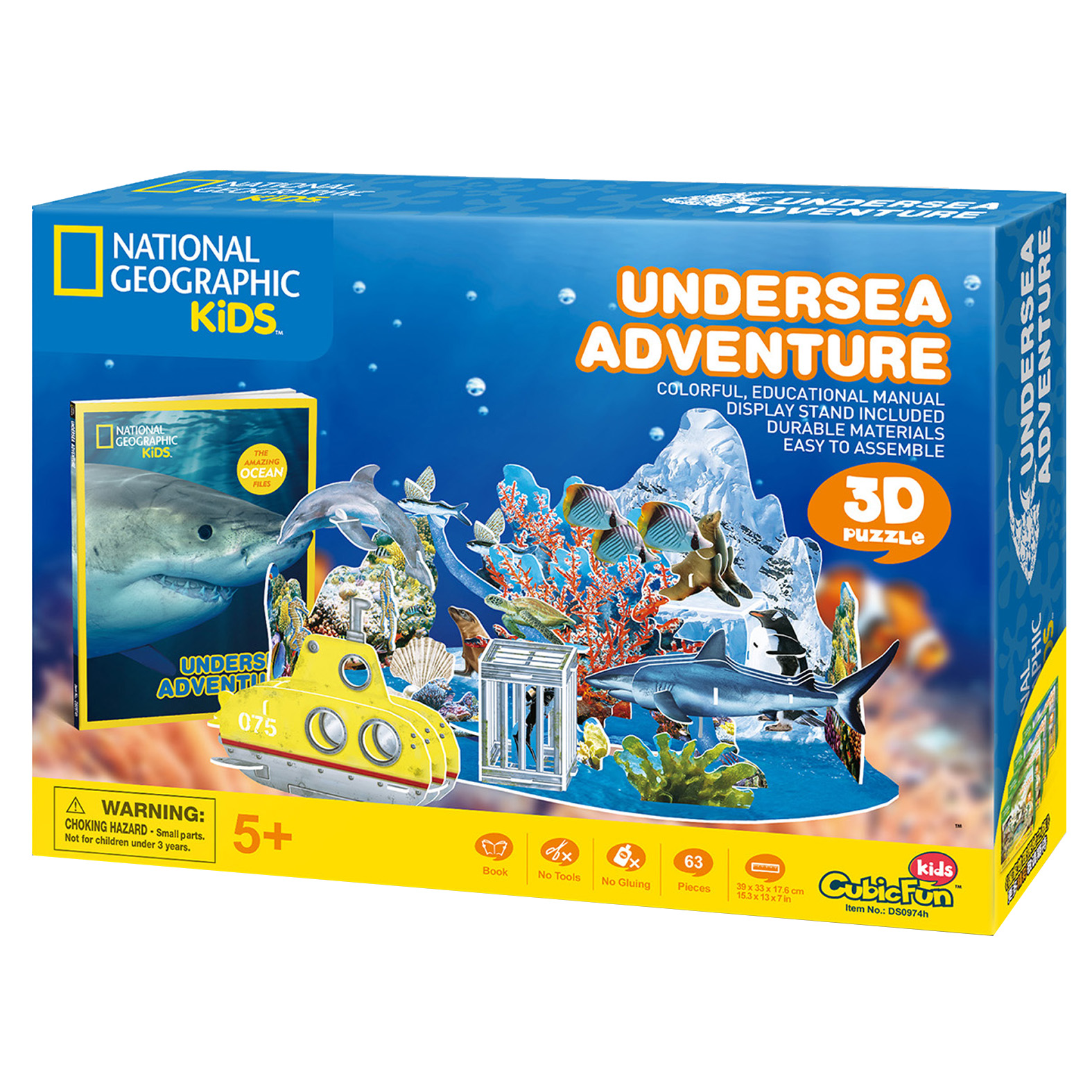 national geographic 3d dinosaur puzzle instructions