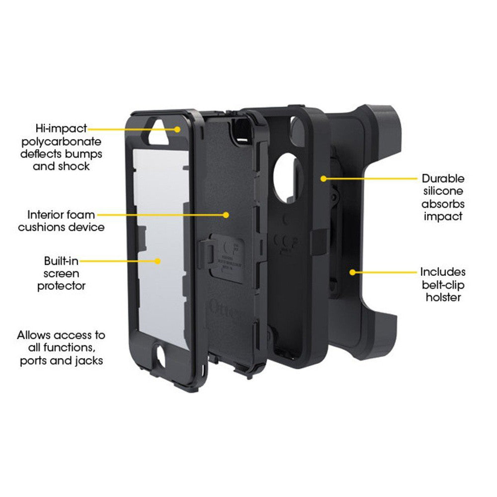 otterbox defender 5s instructions