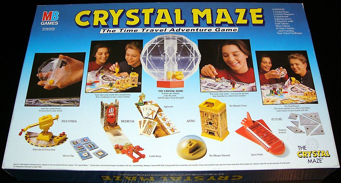 crystal maze board game instructions