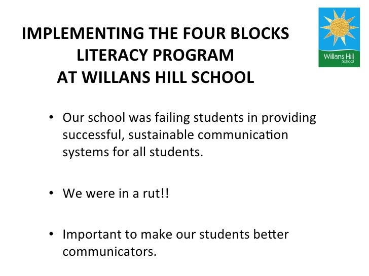 four blocks literacy instruction