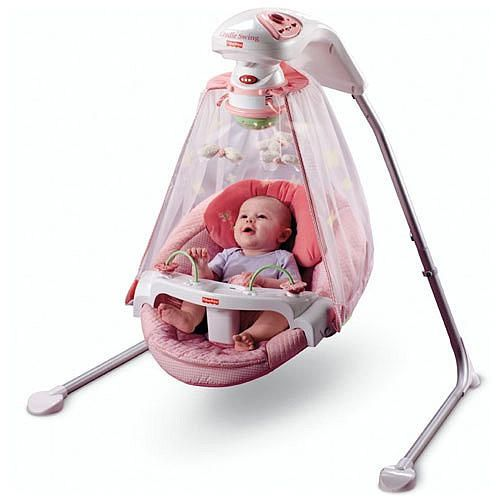 fisher price butterfly garden papasan cradle swing instructions