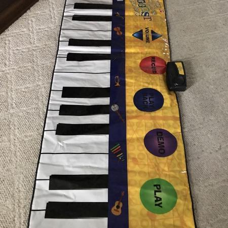 fisher price piano mat instructions