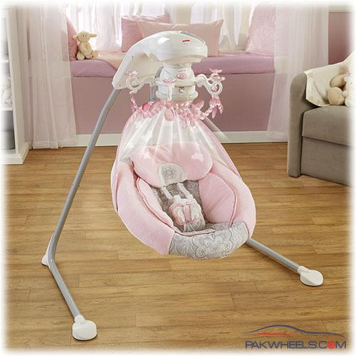 fisher price rose chandelier cradle n swing instructions