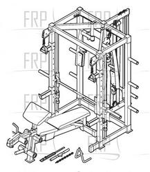 fitness gear ultimate smith machine assembly instructions