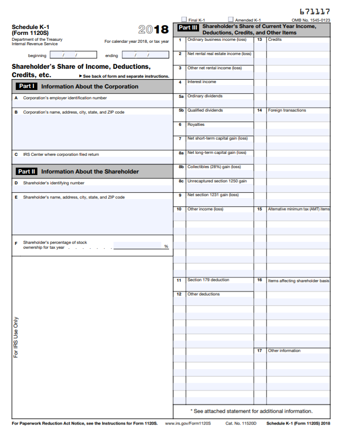form 1120 schedule o instructions