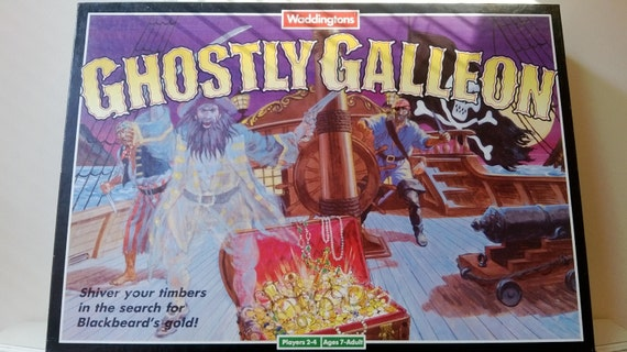 ghostly galleon board game instructions